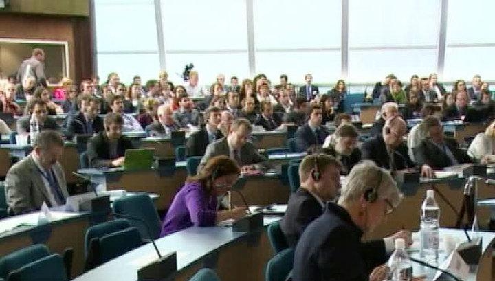 Российская делегация не присутствует на обсуждении ее полномочий в ПАСЕ