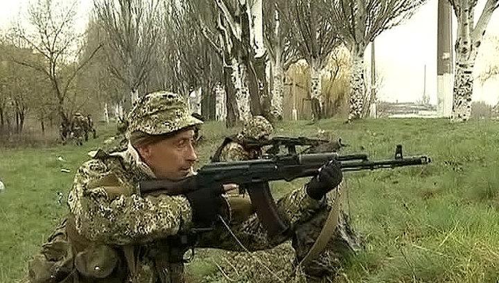Донецкая область переходит под власть сторонников федерализации Украины