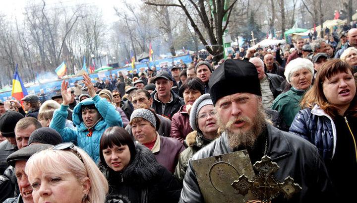 """В Луганске провозглашена """"народная республика"""""""