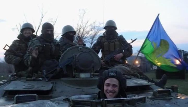 Бой в Краматорске: ополченцы атаковали истребитель