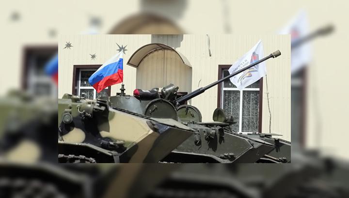 Военные Украины подняли российский флаг, потому что их не кормили