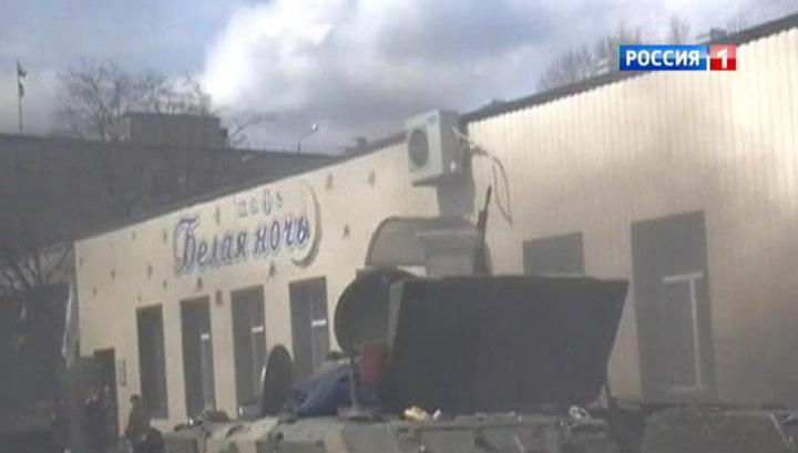 Армия Украины оставляет бронетехнику отрядам самообороны востока