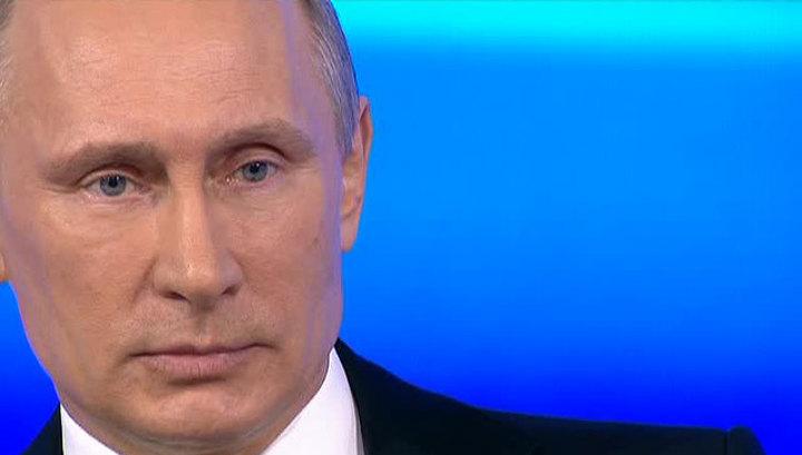 Крым, Янукович, женитьба и Аляска: Путин за 4 часа ответил на 85 вопросов