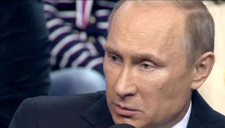 Путин назвал спецоперацию в Донбассе серьезным преступлением
