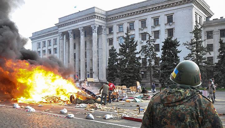 В здании одесского Дома профсоюзов обнаружено 36 трупов
