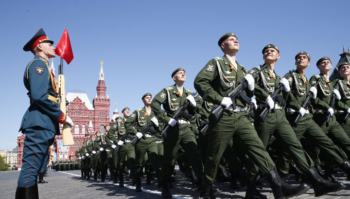 Торжества 9 мая: Парады Победы на Вестях.Ru