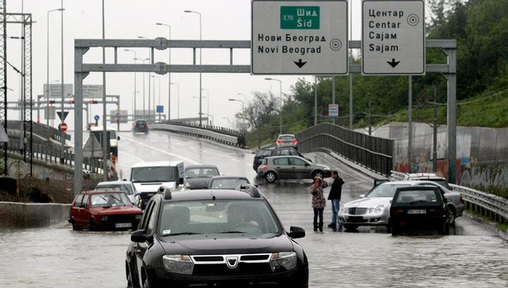 В Сербии произошло сильнейшее за 120 лет наводнение