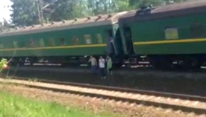 Перед катастрофой на участке железной дороги велись ремонтные работы
