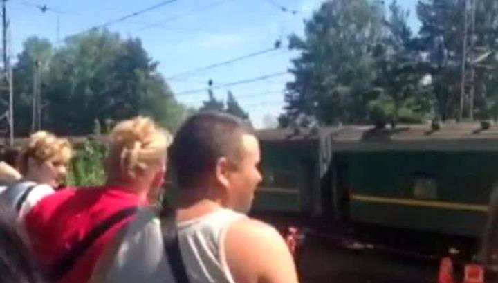 Грузовой поезд, по вине которого произошла авария, принадлежит Украине