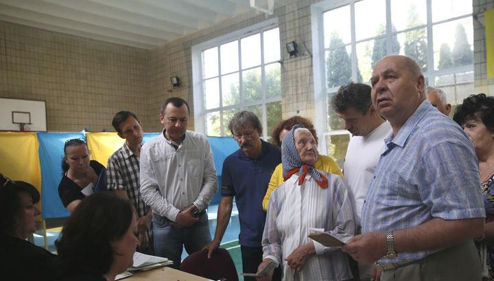 ЦИК Украины: явка на выборах составила более 60 процентов