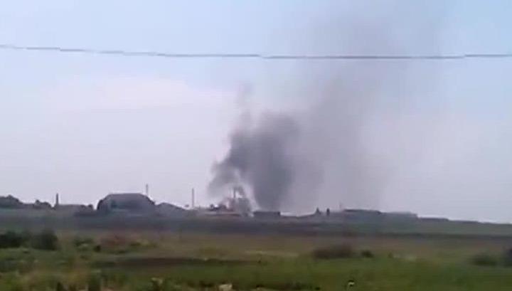 Нацгвардия обстреляла журналистов в аэропорту Донецка