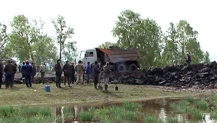 В пригородах Абакана из-за паводка началась эвакуация людей