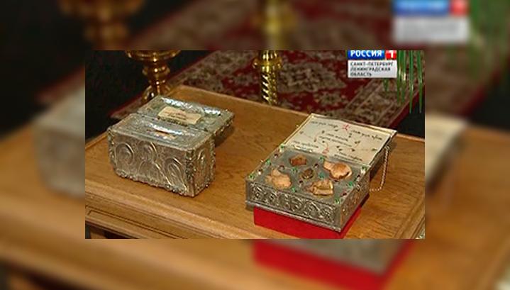 Святыни сербского монастыря Хиландар в Петербурге