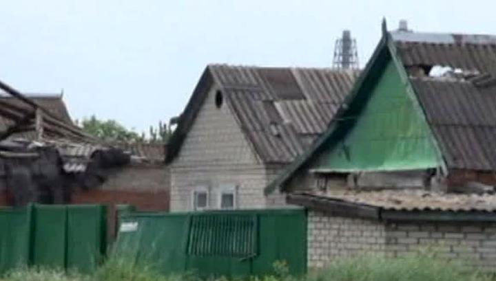 По поселку Семеновка под Славянском нанесен очередной авиаудар