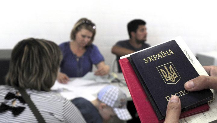Красный крест собирает деньги для беженцев с Украины
