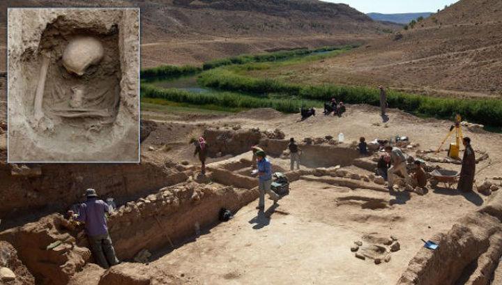 Раскопки в Сирии, поселение древних земледельцев Tell Halula