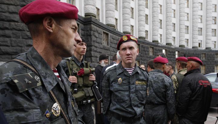 Забытый полк: воевавшие под Славянском солдаты отправились в Киев