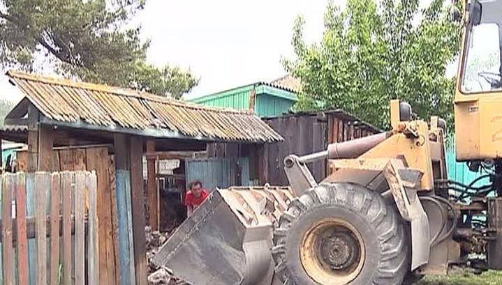 Подтопленных жилых домов в Хакасии не осталось