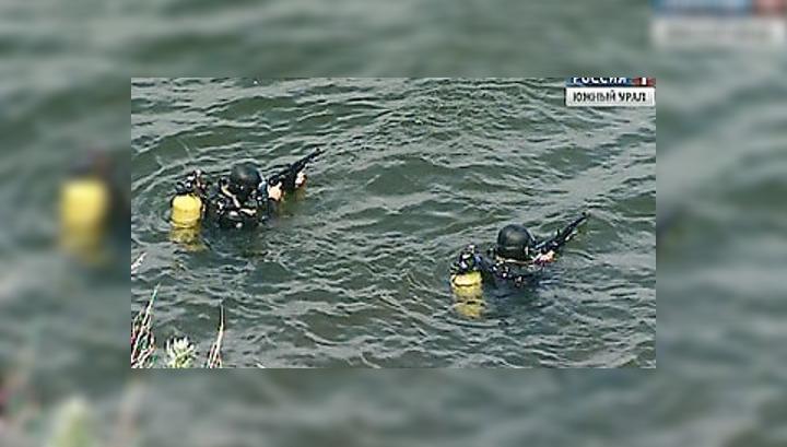 Силовики защитили ядерные объекты Озерска от террористов-водолазов