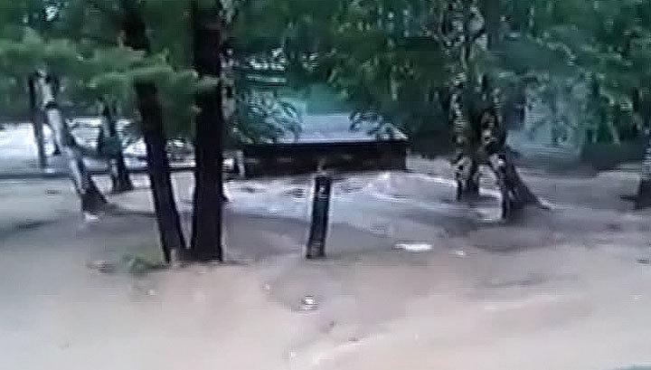 В Бурятии из берегов вышла река: восемь человек пострадали