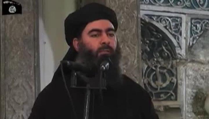 Лидер террористов, громящих мечети в Ираке, выступил по ТВ
