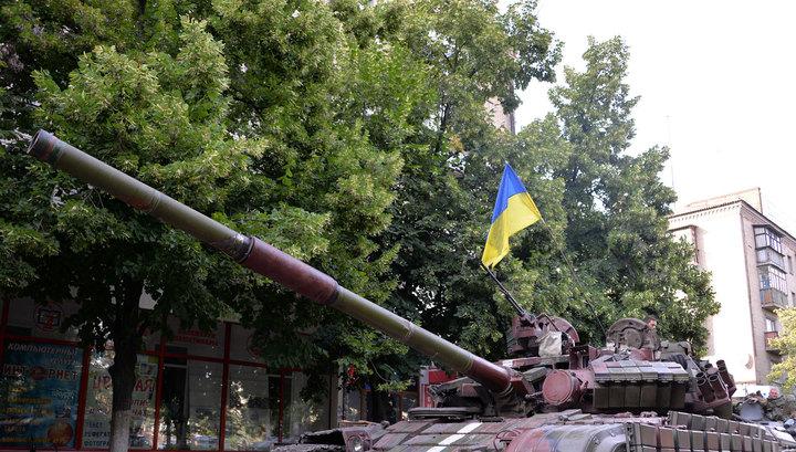 Силовики продолжают обстреливать опустевший Славянск