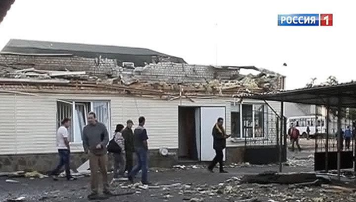 Украинские диверсанты из минометов обстреливают жилые дома в Луганске