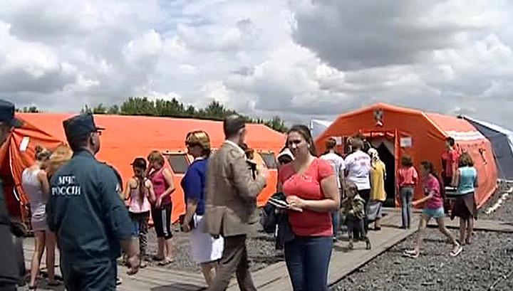Путин распорядился срочно помочь украинским беженцам