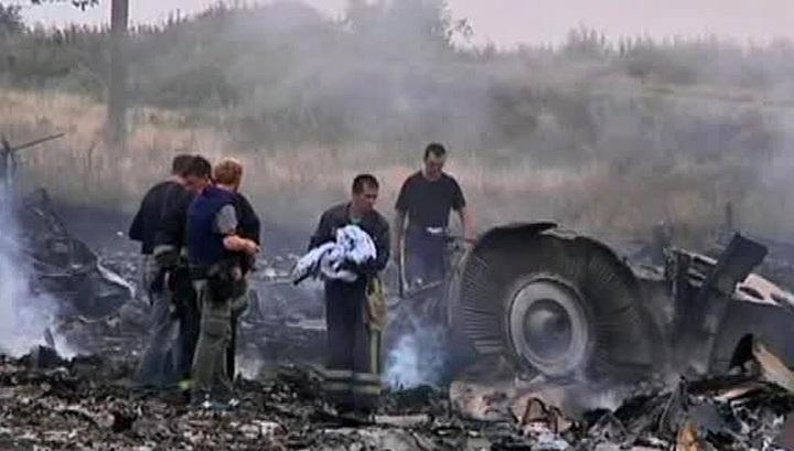 Найдены черные ящики потерпевшего крушение лайнера Boeing-777
