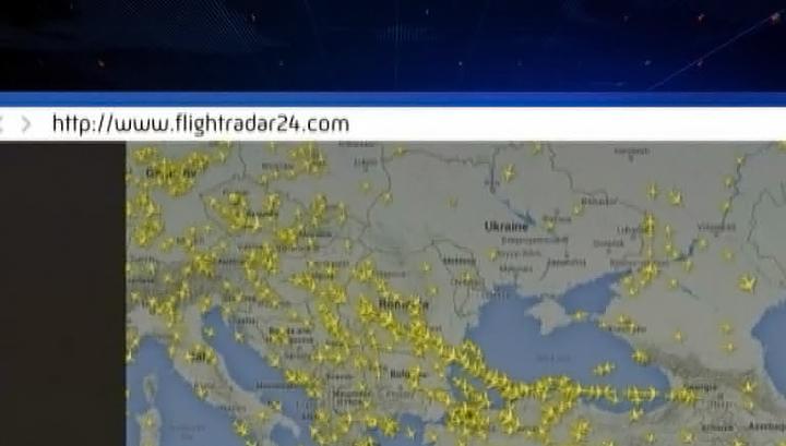Российские авиакомпании прекращают транзитные полеты через Украину
