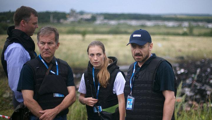 Наблюдатели ОБСЕ прибыли к месту падения лайнера