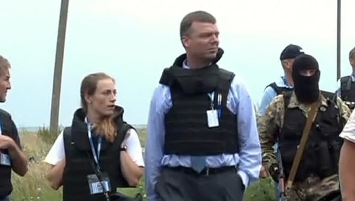 Представители ОБСЕ шокированы увиденным на месте крушения Boeing