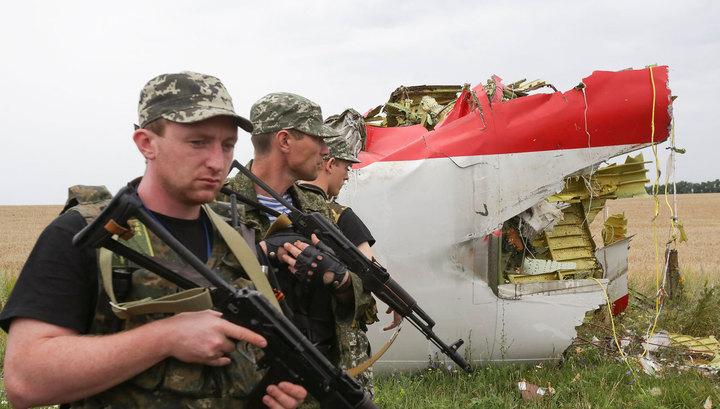 Ополченцы нашли самописцы Boeing и отвезли их в Донецк
