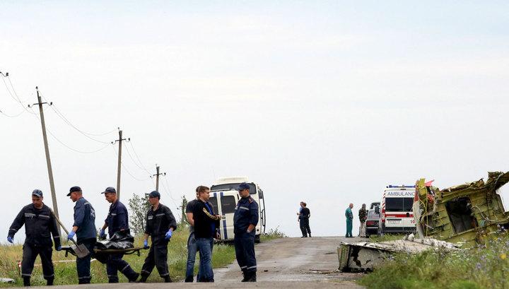 Россия ждет от Украины ответов на 10 вопросов о катастрофе под Донецком