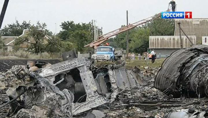 Эксперты привезли собак для поиска тел погибших в катастрофе Boeing под Донецком
