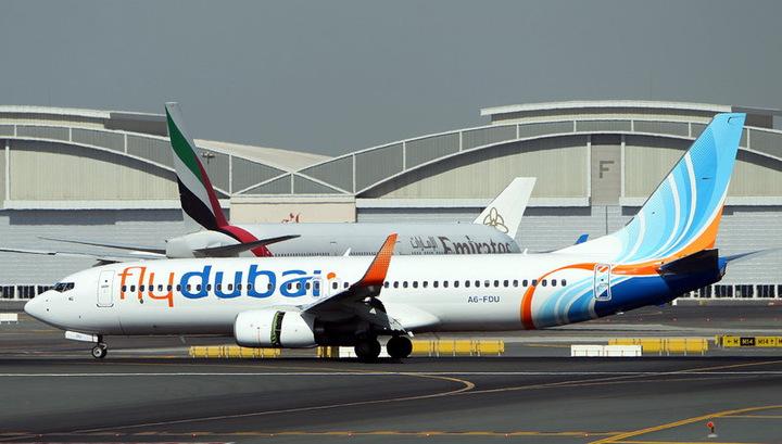 FlyDubai не боится летать на Украину, хотя остальные авиакомпании ОАЭ отказались