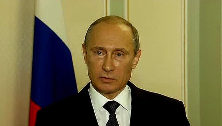 Путин призвал киевские власти к прекращению огня