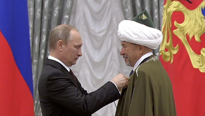 Президент вручил государственные награды в Кремле