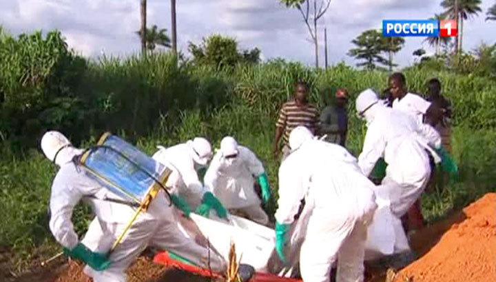 Лихорадка Эбола: 8 российских вирусологов выезжают в Гвинею