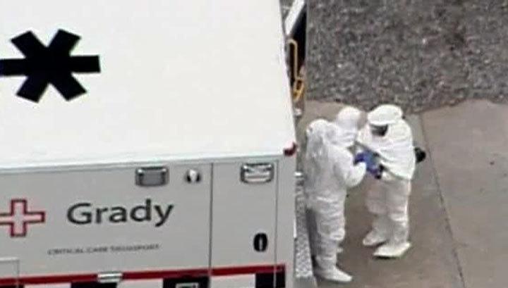 В США выявлена лихорадка Эбола