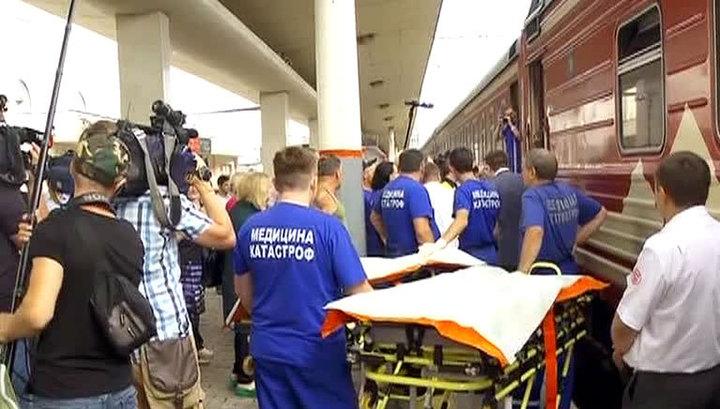Доктор Лиза привезла в Москву из Донецка еще троих больных детей