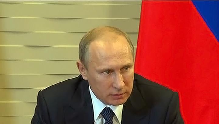 Путин рассчитывает, что Киев поддержит наметившийся прогресс в отношениях