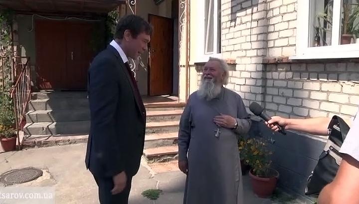 Олег Царев привез в Луганск гуманитарную помощь