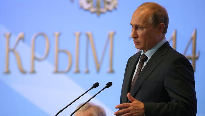 Путин навестил Крым и напомнил о национальных интересах России
