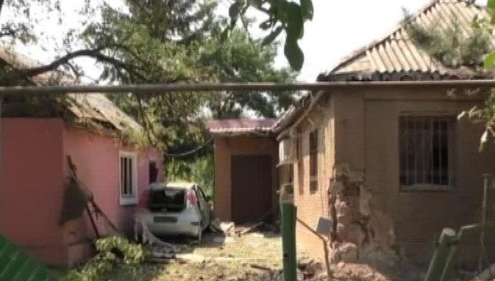 Обстрел Донецка: в город прорываются группы диверсантов