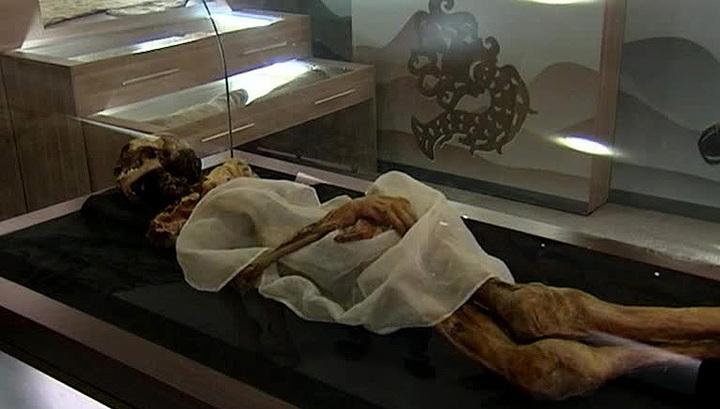 """Мумию """"Принцесса Укока"""" захоронят на Алтае"""