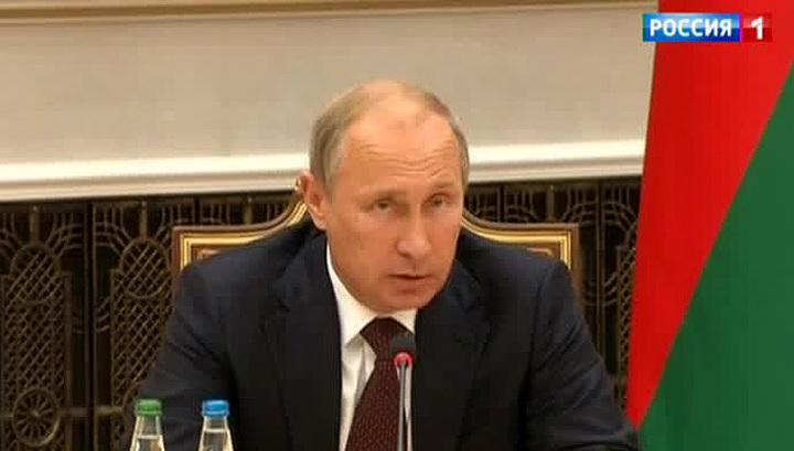 Путин рассказал об итогах переговоров с Порошенко