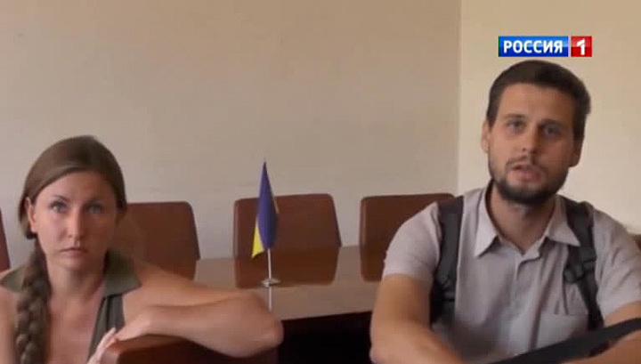 """Журналисты """"Крымского телеграфа"""" вернулись в Симферополь"""
