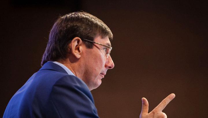 Луценко обвинил Яценюка в коррупции