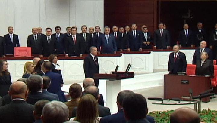 В Турции прошла инаугурация Эрдогана